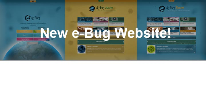 e-Bug website annoucement