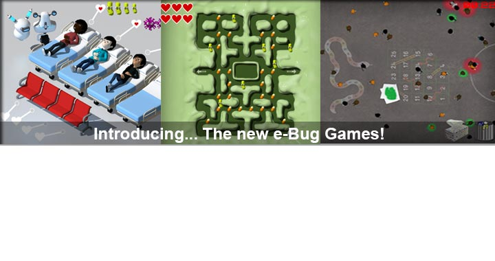 e-Bug games annoucement